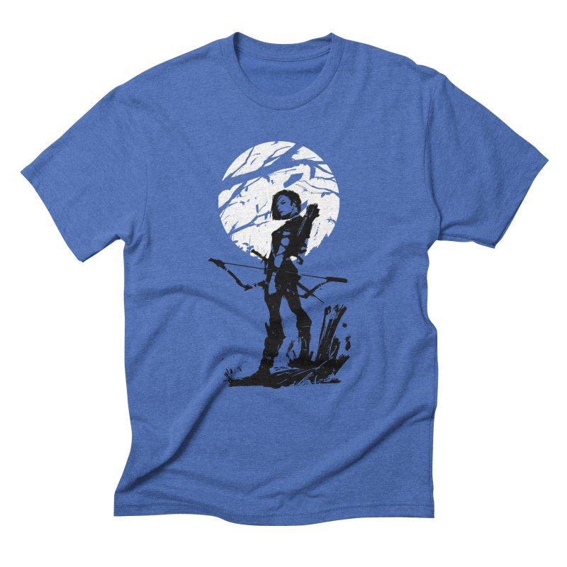 Moonlight Hunt Men's T-Shirt by aaronjriley's Artist Shop