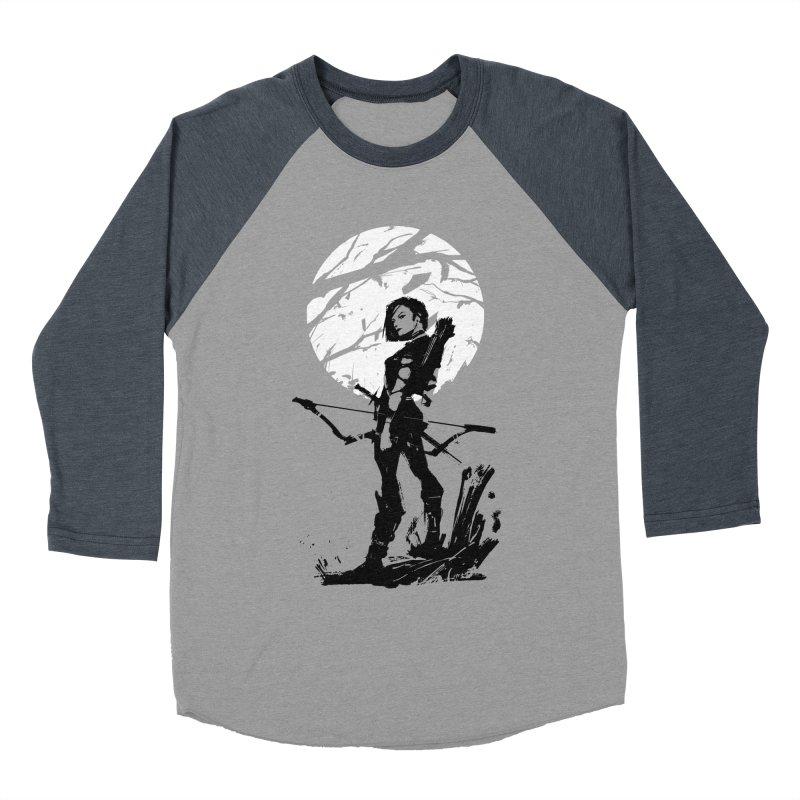 Moonlight Hunt Women's Baseball Triblend Longsleeve T-Shirt by aaronjriley's Artist Shop