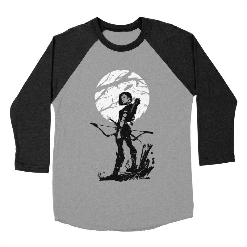 Moonlight Hunt Men's Baseball Triblend Longsleeve T-Shirt by aaronjriley's Artist Shop