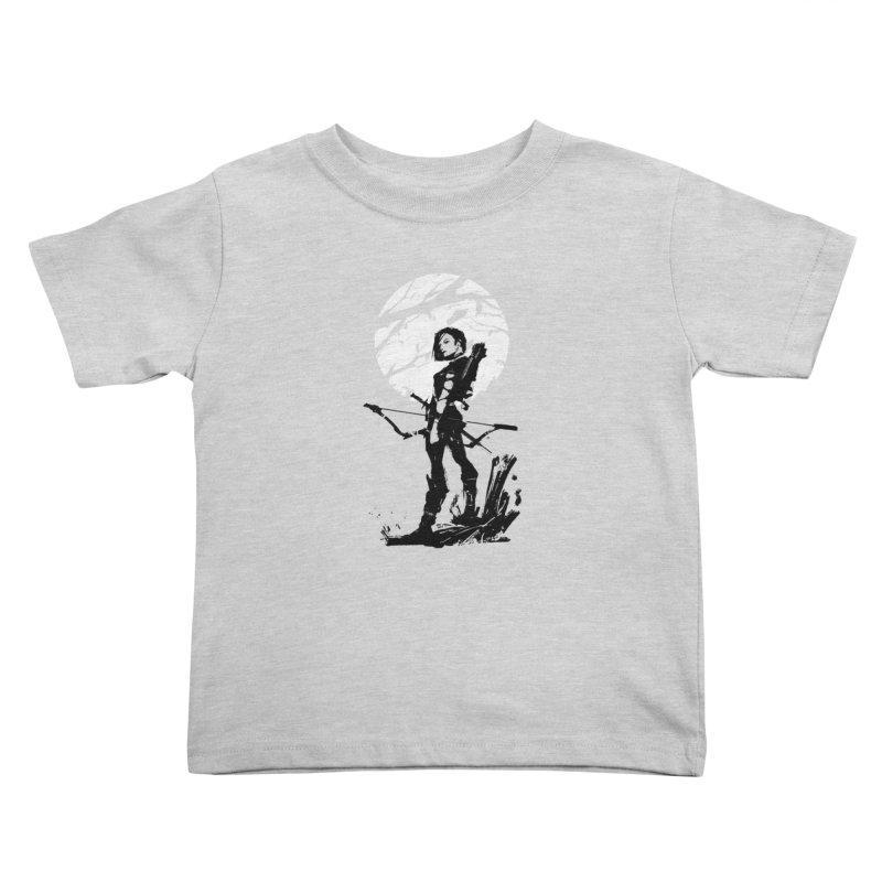 Moonlight Hunt Kids Toddler T-Shirt by aaronjriley's Artist Shop