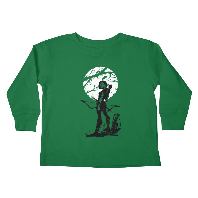 Moonlight Hunt Kids Toddler Longsleeve T-Shirt by aaronjriley's Artist Shop