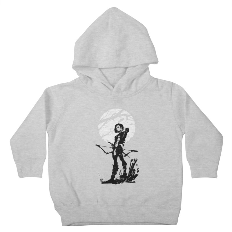 Moonlight Hunt Kids Toddler Pullover Hoody by aaronjriley's Artist Shop