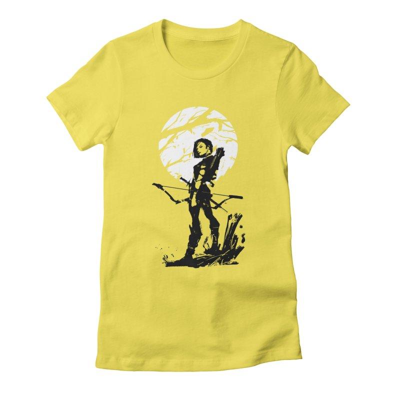 Moonlight Hunt Women's T-Shirt by aaronjriley's Artist Shop