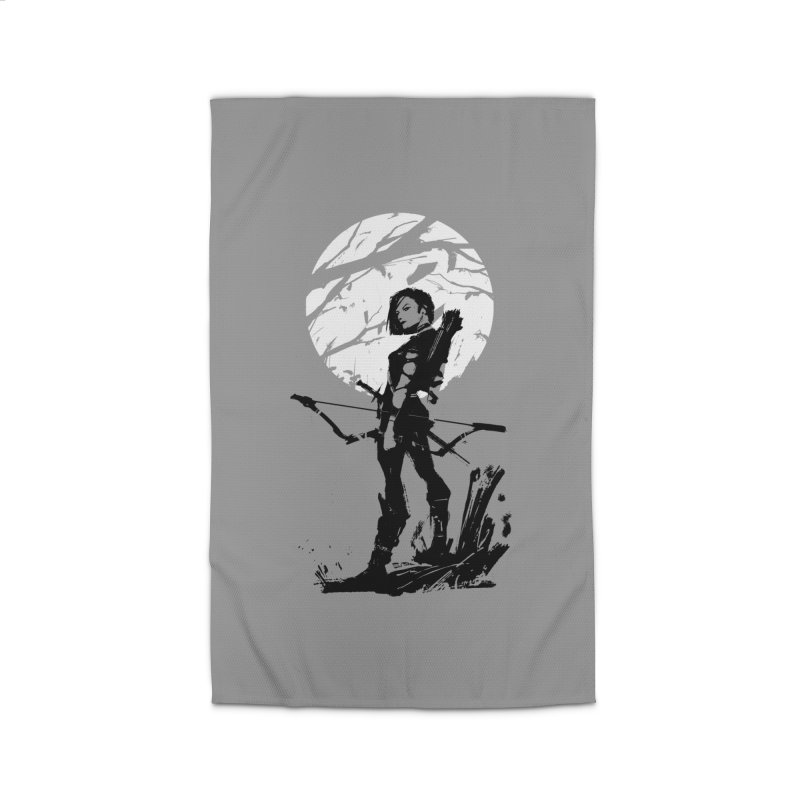 Moonlight Hunt Home Rug by aaronjriley's Artist Shop