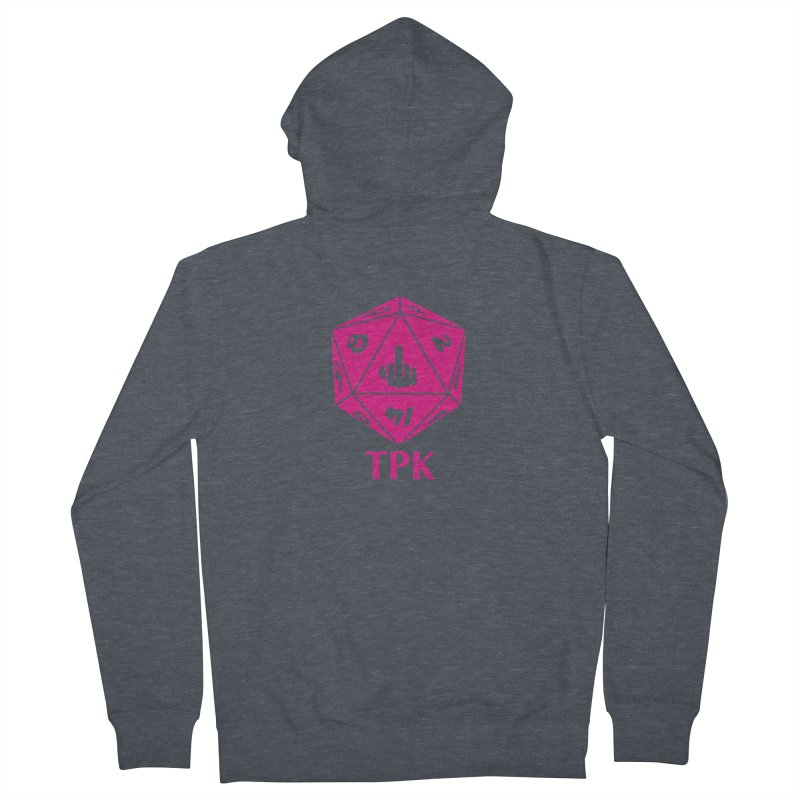 Total Party Kill Women's French Terry Zip-Up Hoody by aaronjriley's Artist Shop