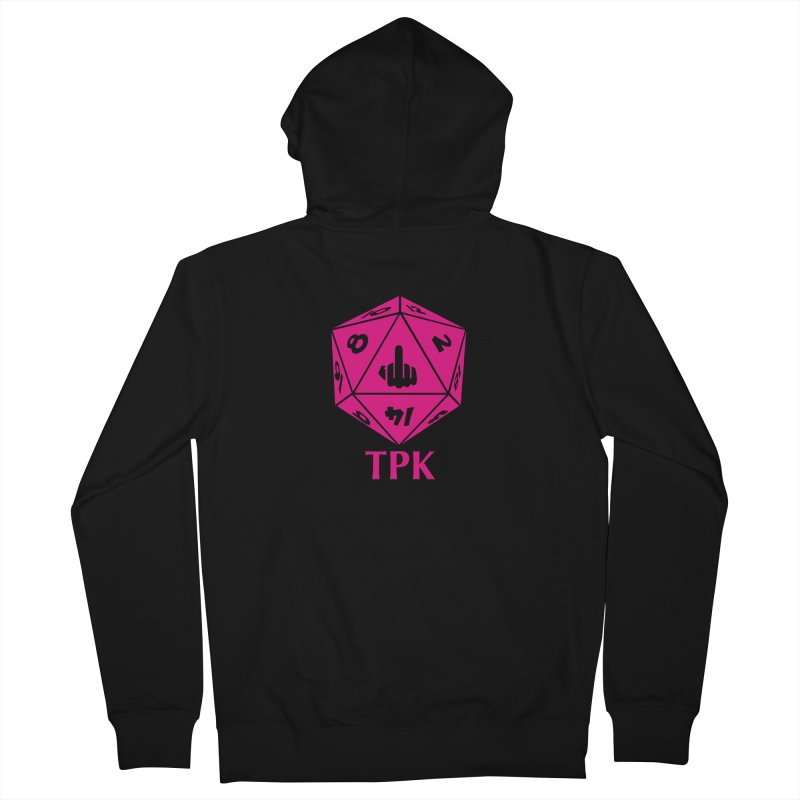 Total Party Kill Men's French Terry Zip-Up Hoody by aaronjriley's Artist Shop