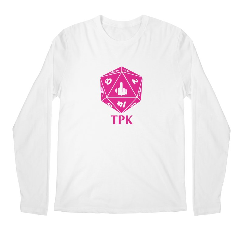 Total Party Kill Men's Regular Longsleeve T-Shirt by aaronjriley's Artist Shop