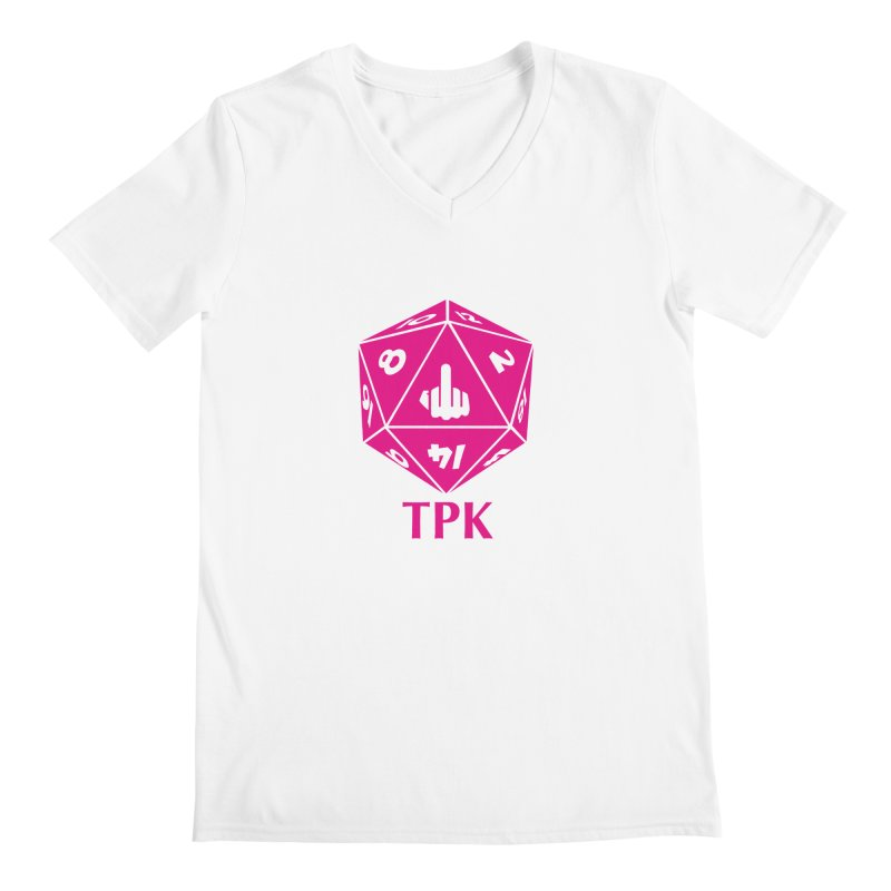 Total Party Kill Men's V-Neck by aaronjriley's Artist Shop