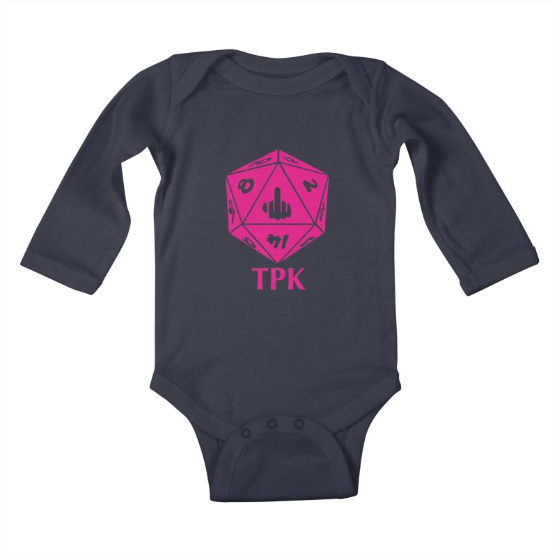 Total Party Kill Kids Baby Longsleeve Bodysuit by aaronjriley's Artist Shop