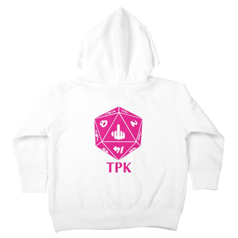 Total Party Kill Kids Toddler Zip-Up Hoody by aaronjriley's Artist Shop