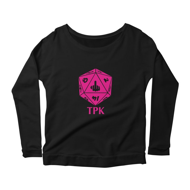 Total Party Kill Women's Scoop Neck Longsleeve T-Shirt by aaronjriley's Artist Shop
