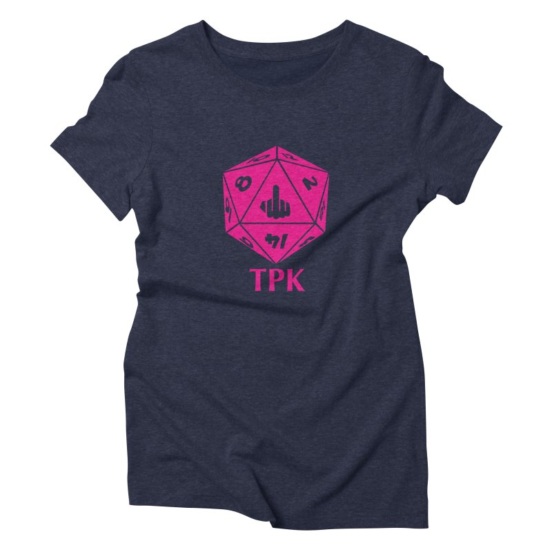 Total Party Kill Women's Triblend T-Shirt by aaronjriley's Artist Shop