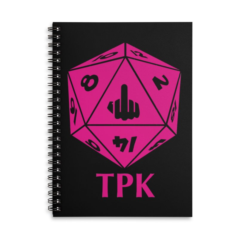 Total Party Kill Accessories Lined Spiral Notebook by aaronjriley's Artist Shop