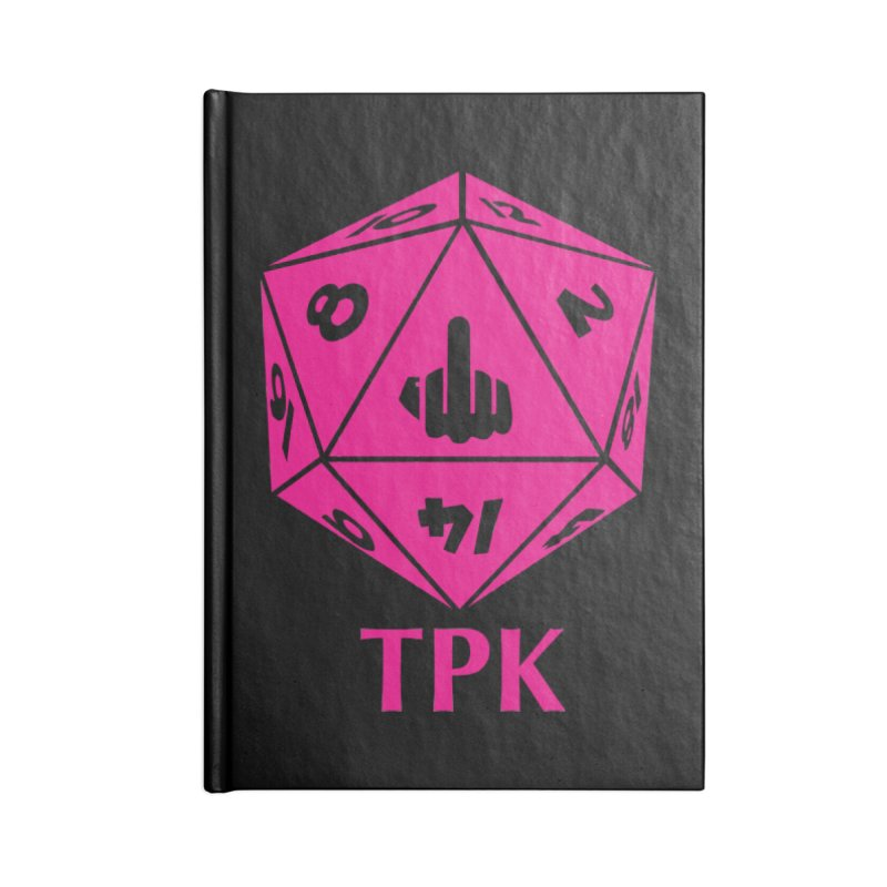 Total Party Kill Accessories Notebook by aaronjriley's Artist Shop