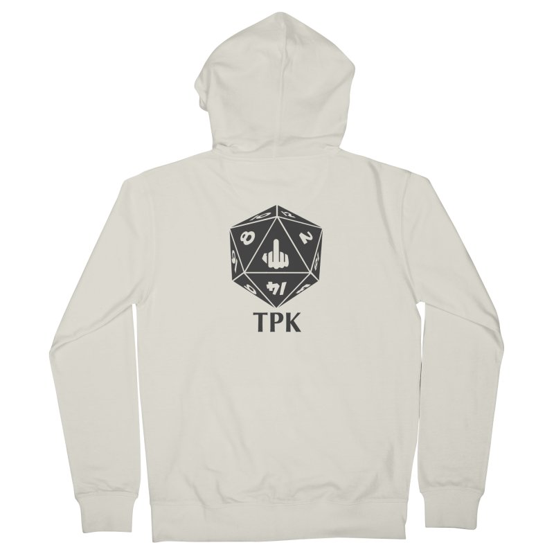 Total Party Kill (gray) Women's French Terry Zip-Up Hoody by aaronjriley's Artist Shop