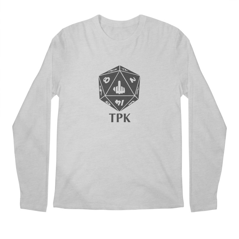 Total Party Kill (gray) Men's Regular Longsleeve T-Shirt by aaronjriley's Artist Shop