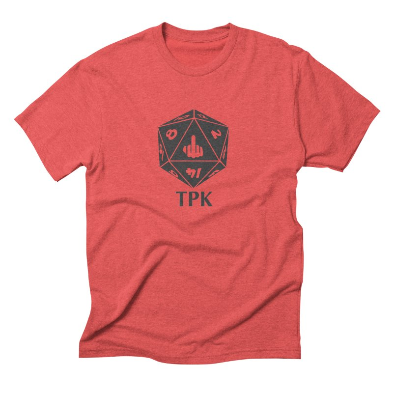 Total Party Kill (gray) Men's Triblend T-Shirt by aaronjriley's Artist Shop