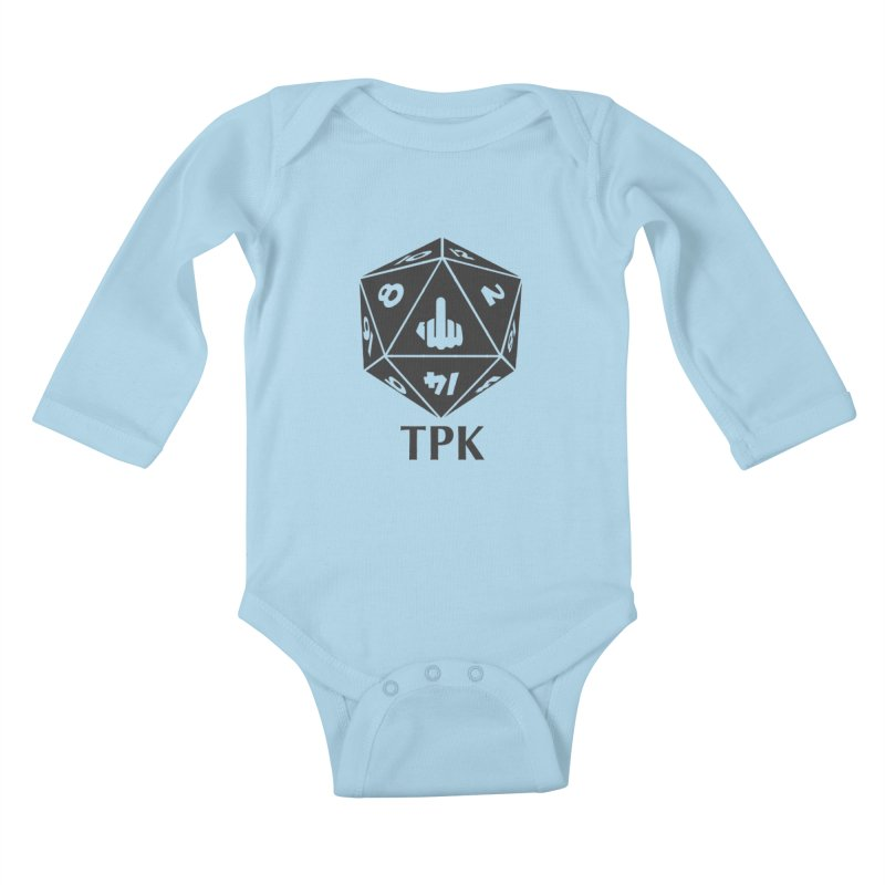 Total Party Kill (gray) Kids Baby Longsleeve Bodysuit by aaronjriley's Artist Shop
