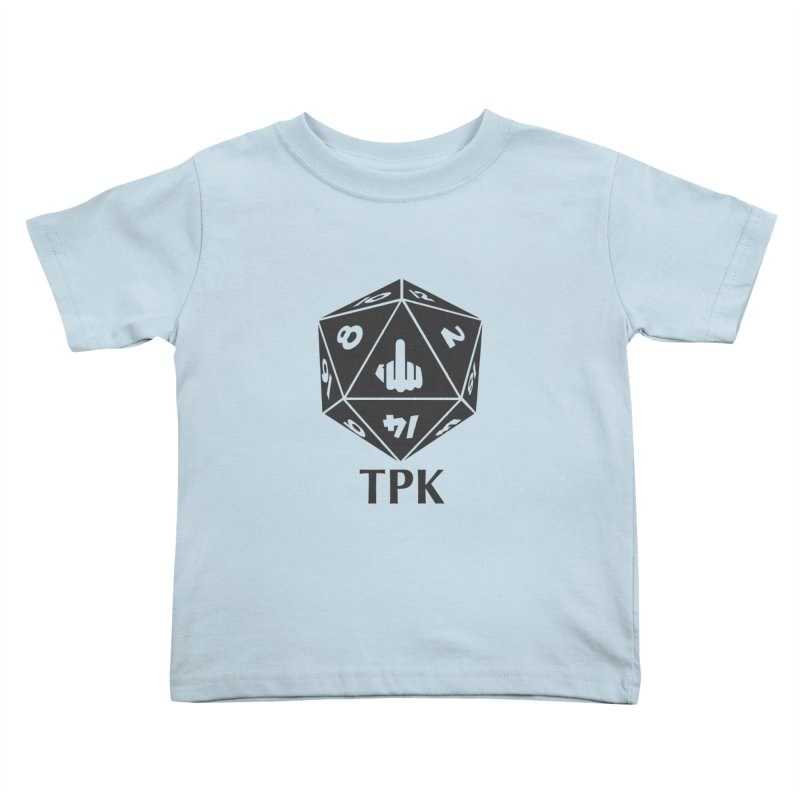 Total Party Kill (gray) Kids Toddler T-Shirt by aaronjriley's Artist Shop
