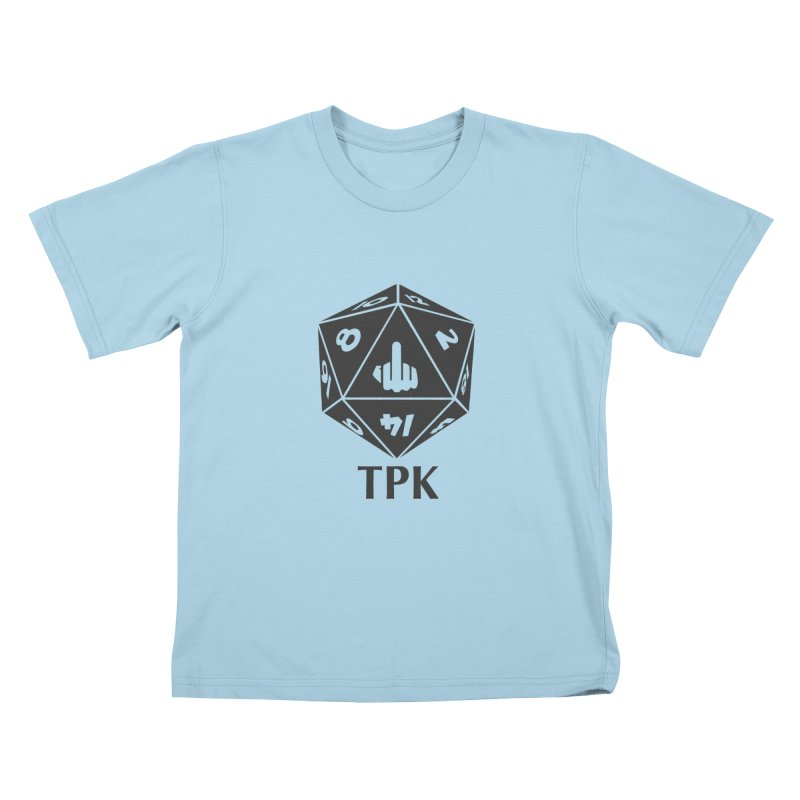 Total Party Kill (gray) Kids T-Shirt by aaronjriley's Artist Shop