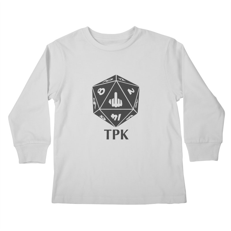 Total Party Kill (gray) Kids Longsleeve T-Shirt by aaronjriley's Artist Shop