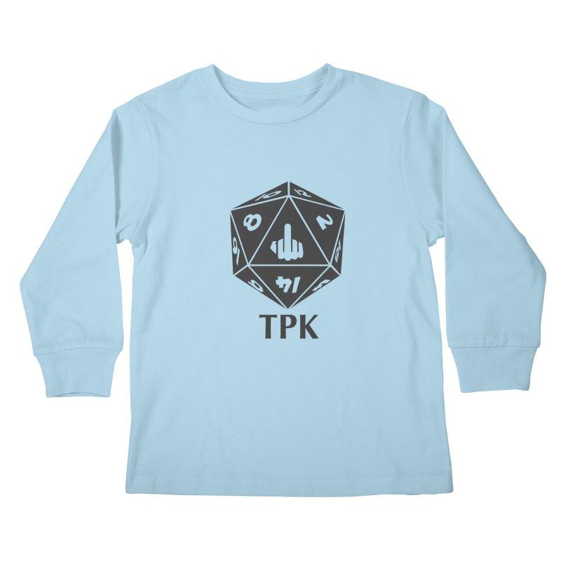 Total Party Kill (gray) Kids Longsleeve T-Shirt by aaronjriley's Artist Shop