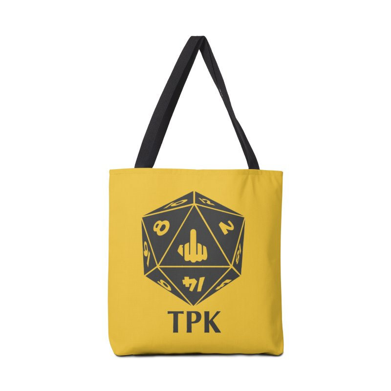 Total Party Kill (gray) Accessories Tote Bag Bag by aaronjriley's Artist Shop