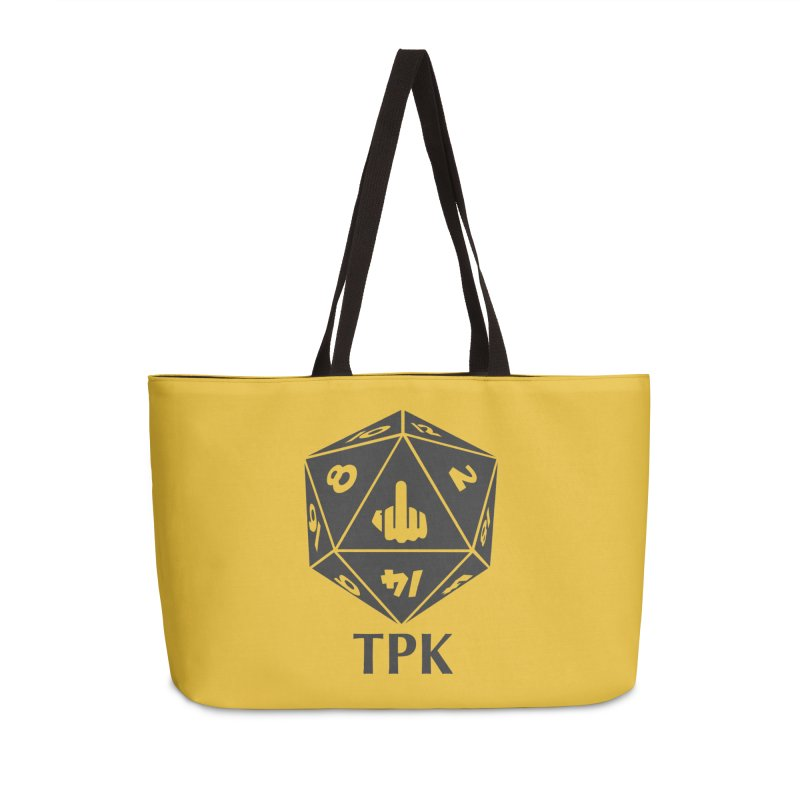 Total Party Kill (gray) Accessories Weekender Bag Bag by aaronjriley's Artist Shop