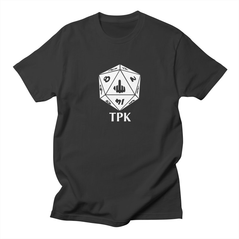TPK (white) in Men's Regular T-Shirt Smoke by aaronjriley's Artist Shop