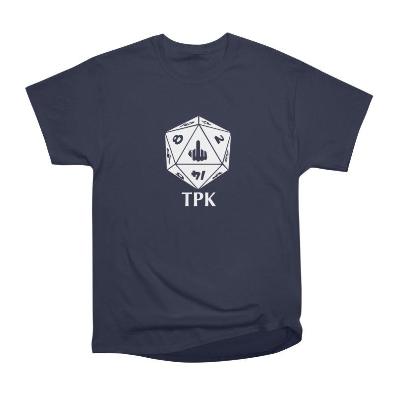 TPK (white) Men's Heavyweight T-Shirt by aaronjriley's Artist Shop