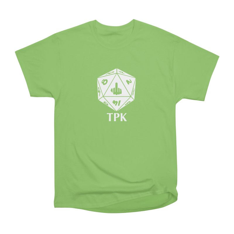 TPK (white) Women's Heavyweight Unisex T-Shirt by aaronjriley's Artist Shop