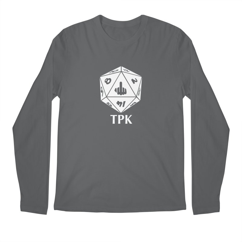 TPK (white) Men's Longsleeve T-Shirt by aaronjriley's Artist Shop