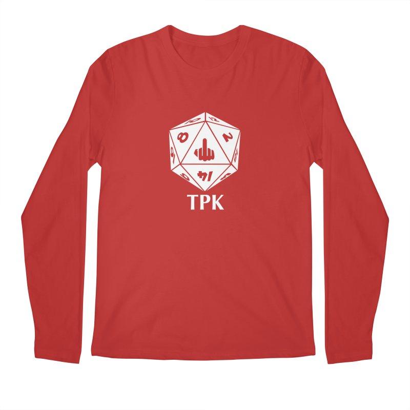 TPK (white) Men's Regular Longsleeve T-Shirt by aaronjriley's Artist Shop