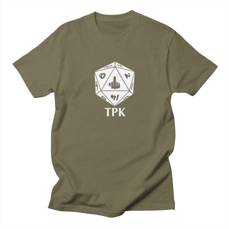 TPK (white) Women's Regular Unisex T-Shirt by aaronjriley's Artist Shop