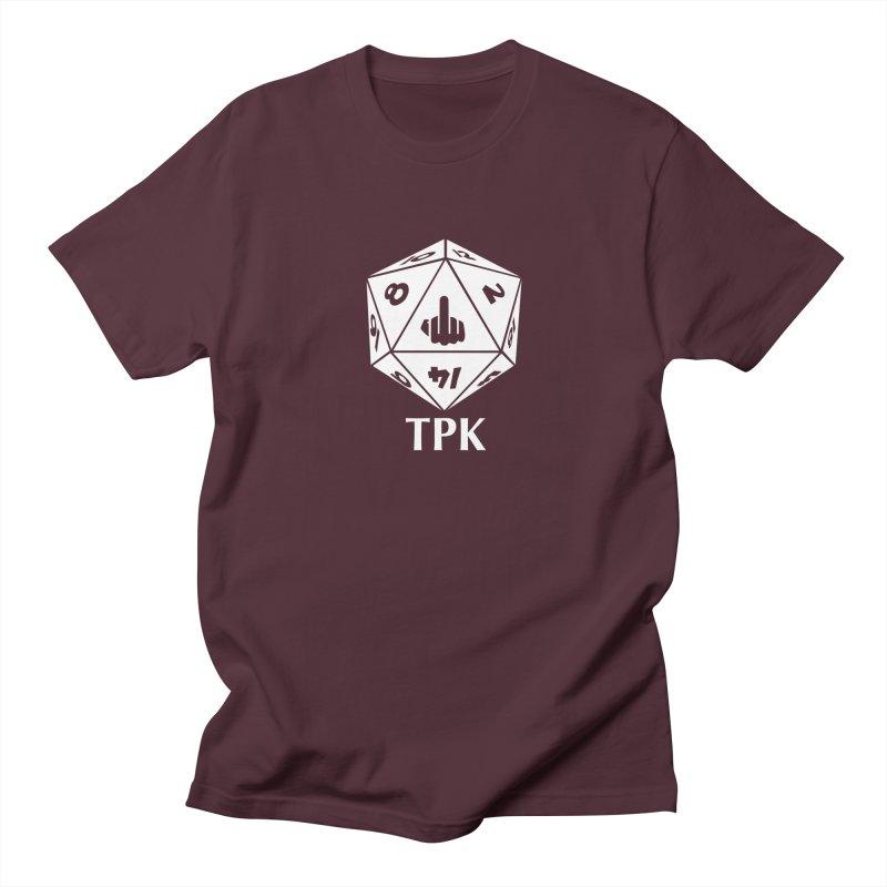 TPK (white) Men's T-Shirt by aaronjriley's Artist Shop