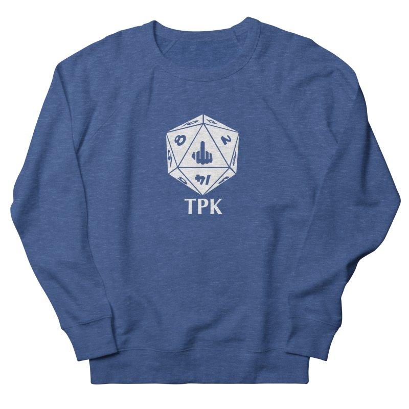 TPK (white) Men's Sweatshirt by aaronjriley's Artist Shop