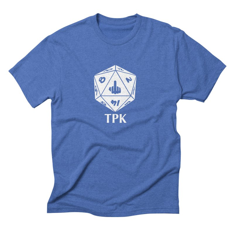 TPK (white) Men's Triblend T-Shirt by aaronjriley's Artist Shop