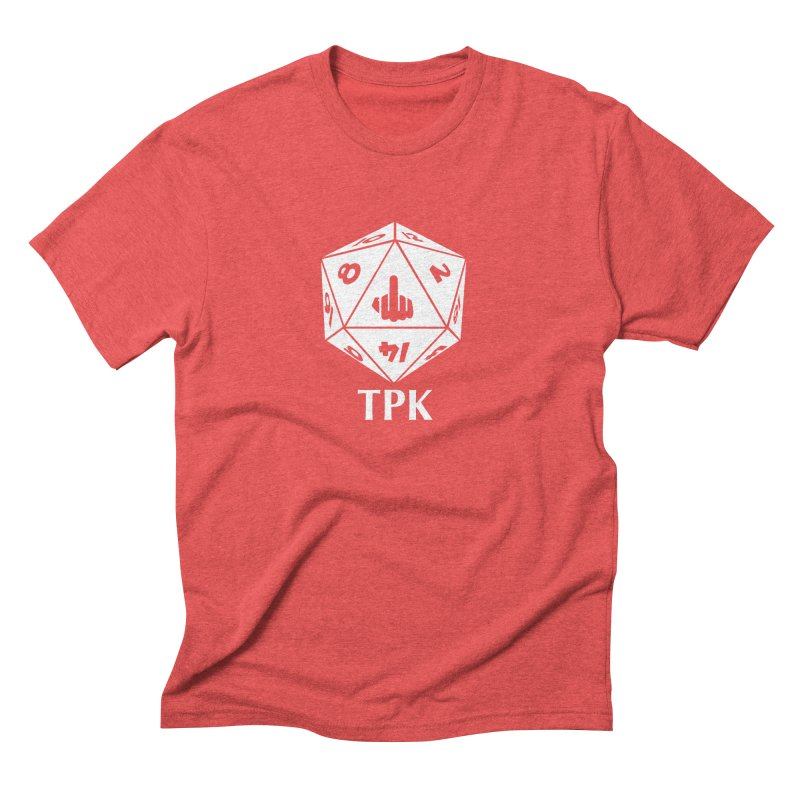 TPK (white) Men's Triblend T-Shirt by aaronjriley's Artist Shop