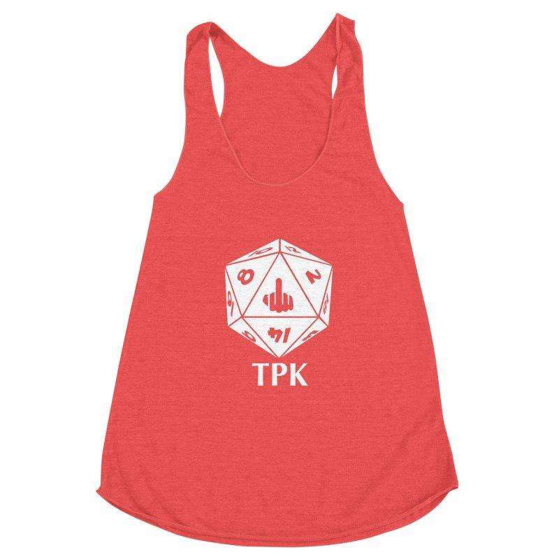 TPK (white) Women's Tank by aaronjriley's Artist Shop
