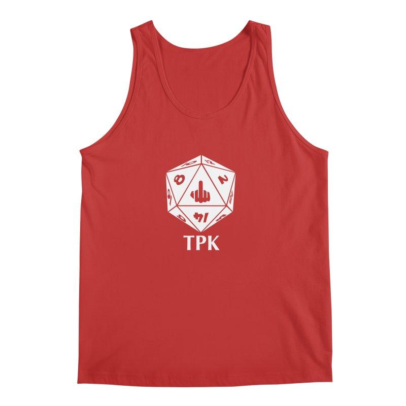 TPK (white) Men's Regular Tank by aaronjriley's Artist Shop
