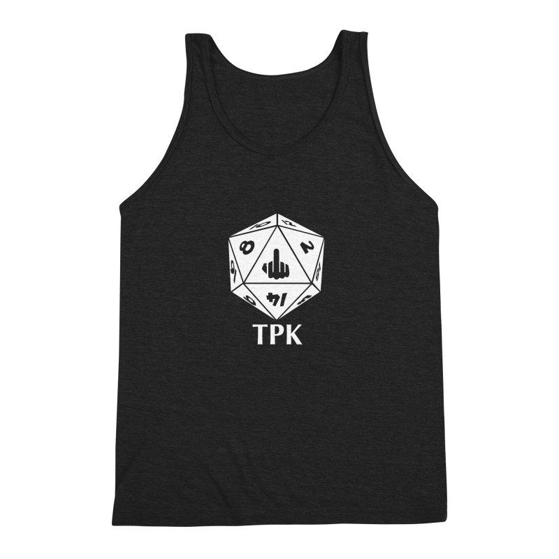 TPK (white) Men's Triblend Tank by aaronjriley's Artist Shop