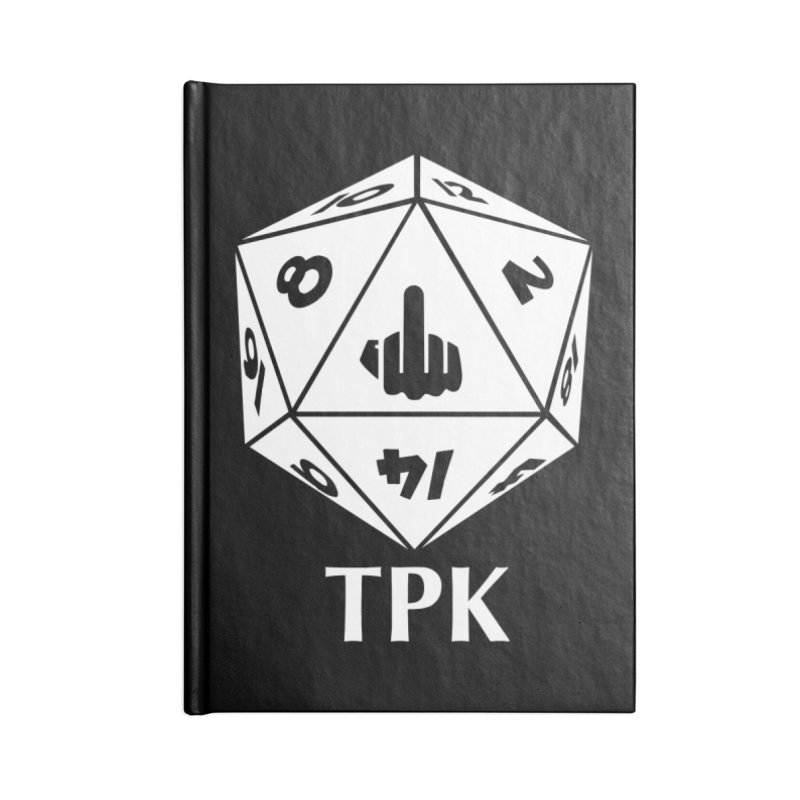 TPK (white) Accessories Notebook by aaronjriley's Artist Shop