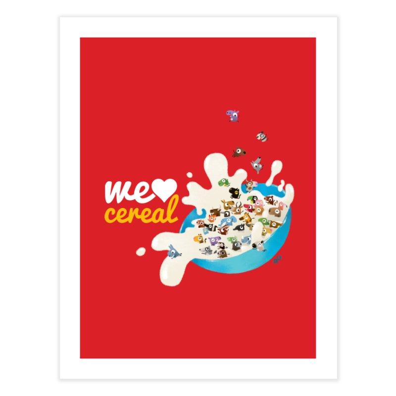 We/Me Love Cereal   by aaronrandy's Artist Shop