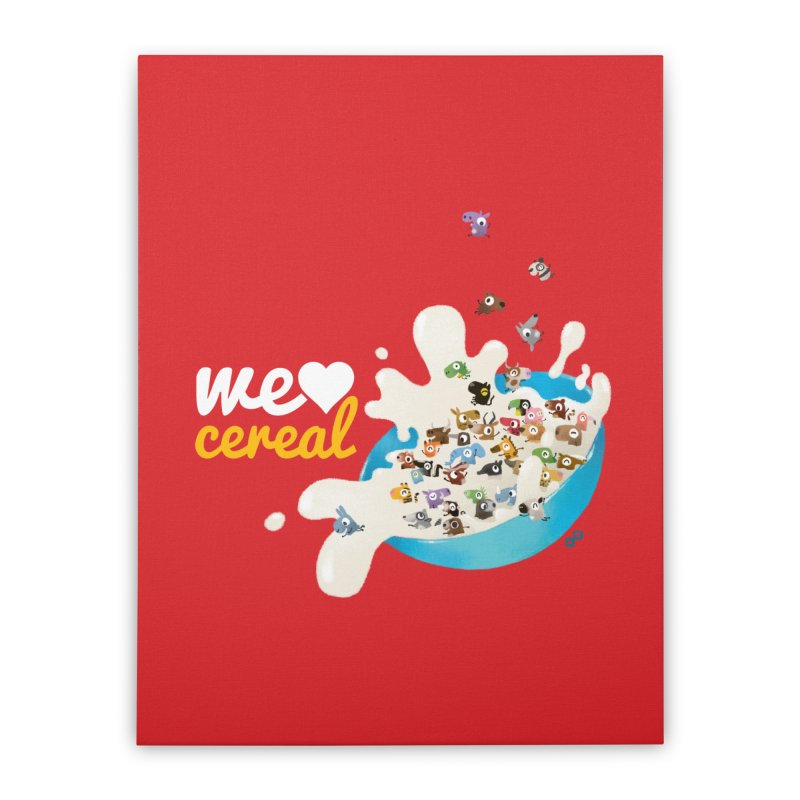 We/Me Love Cereal   by aaronrandy's Artist Shop