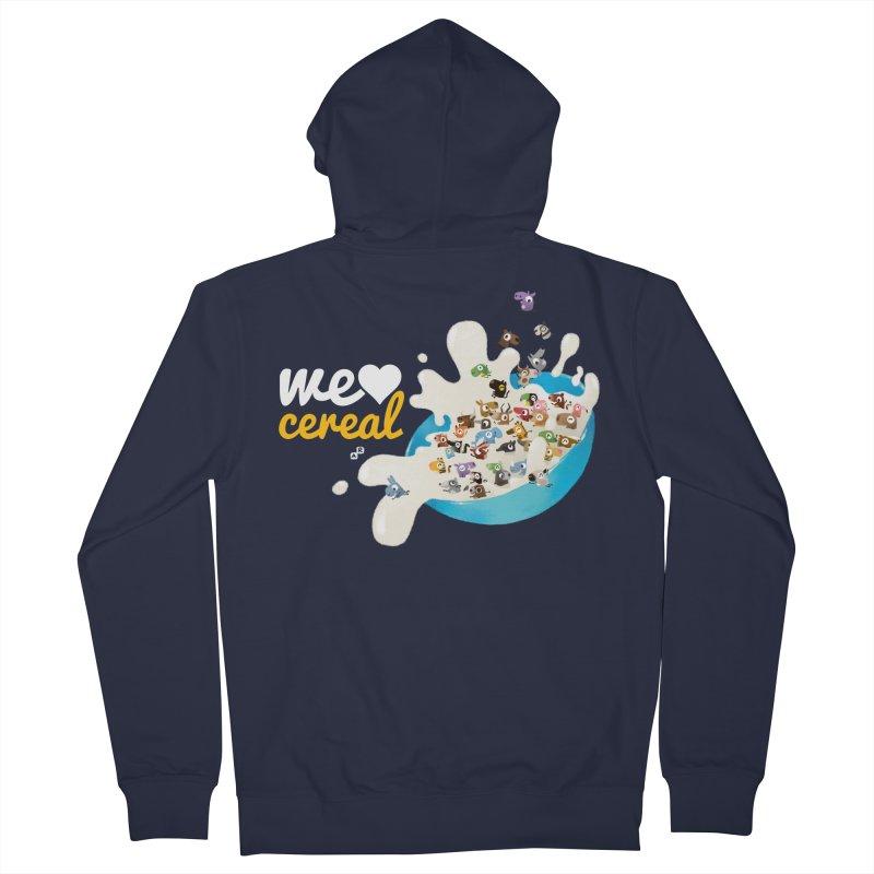 We/Me Love Cereal Men's Zip-Up Hoody by aaronrandy's Artist Shop