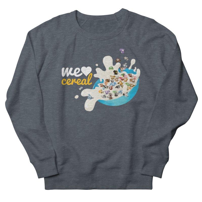 We/Me Love Cereal Men's Sweatshirt by aaronrandy's Artist Shop