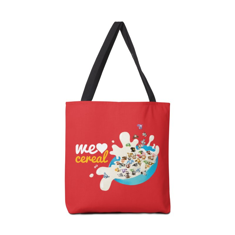 We/Me Love Cereal Accessories Bag by aaronrandy's Artist Shop