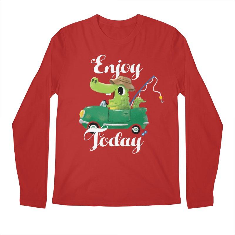 Enjoy Today Men's Longsleeve T-Shirt by aaronrandy's Artist Shop