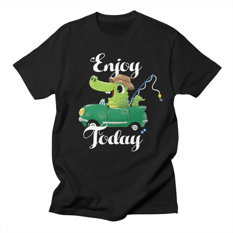 Enjoy Today Men's T-shirt by aaronrandy's Artist Shop