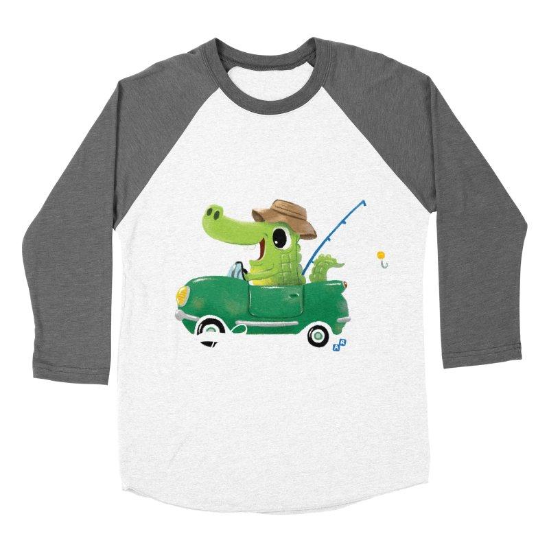 Enjoy Today Men's Baseball Triblend T-Shirt by aaronrandy's Artist Shop
